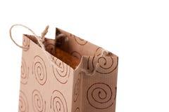коричневый цвет мешка регулирует бумагу Стоковое Изображение