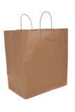 коричневый цвет мешка регулирует покупку Стоковые Фотографии RF