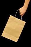 коричневый цвет мешка Стоковое Фото