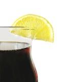 коричневый цвет напитка Стоковая Фотография