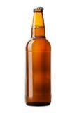 Коричневый цвет пивной бутылки Стоковая Фотография