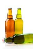 Коричневый цвет пивной бутылки Стоковое Изображение RF