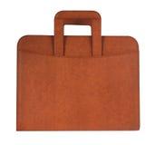 коричневый цвет портфеля Стоковое Изображение