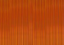 Коричневый цвет предпосылки с тонкими узкими нервюрами выравнивает текстуру картины Стоковые Изображения RF