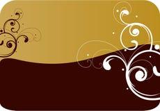 коричневый цвет предпосылки иллюстрация вектора