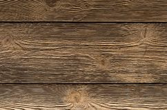 Коричневый цвет предпосылки Grunge старый испек выдержанную древесиной поверхность текстурированную доской, естественный фон Стоковые Фото