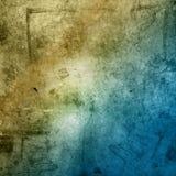 коричневый цвет предпосылки голубой Стоковая Фотография RF
