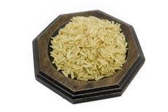 Коричневый цвет риса Стоковая Фотография