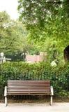 коричневый цвет стенда никто парк Стоковое фото RF