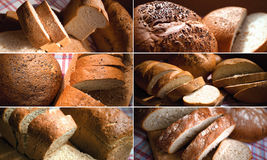 коричневый цвет хлеба Стоковая Фотография RF