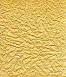 коричневый цвет creased сморщенная бумага Стоковое Изображение RF