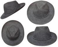 коричневый шлем ковбоя Стоковые Изображения