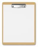 коричневый clipboard стоковое фото
