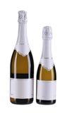 2 коричневых бутылки шампанского. Стоковое Фото
