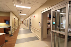 Коридор больницы Стоковая Фотография RF