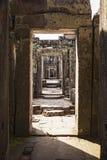 Коридор виска Preah Khan Стоковое Фото