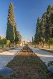 Коридор входа в сад Jahan-nama Стоковое фото RF