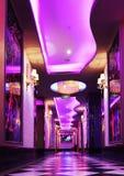 Коридор в роскошной гостинице Стоковые Фото