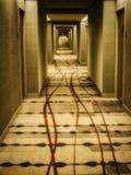 Коридор гостиницы Стоковая Фотография
