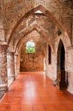 Коридор мечети Musjid Se Krue, Pattani, Таиланда Стоковая Фотография RF