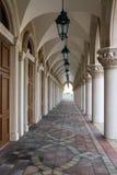 Коридор на венецианском казино стоковое фото