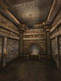 Коридор подземелья иллюстрация вектора