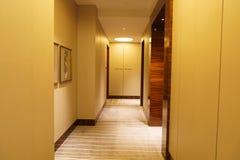 Коридор роскошной гостиницы Стоковое Изображение RF