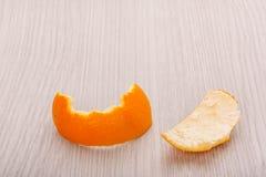 корка апельсина пупка Стоковое фото RF