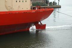 кормило корабля Стоковая Фотография