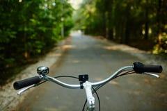 Кормило велосипеда стоковое фото rf