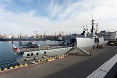 Кормка военного корабля Стоковая Фотография