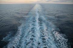 кормовая волна Стоковые Изображения RF