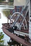Кормовой привод колеса стоковое фото