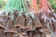 Корм для животных для рыб Стоковое Изображение RF
