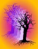 корни ветвей иллюстрация штока