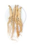 Корни женьшени стоковая фотография rf