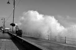 Корнуолл, фронт Penzance прибрежный Стоковая Фотография RF