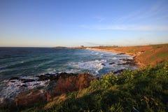 Корнуольское побережье Великобритания Стоковая Фотография RF