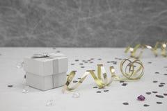 Коробка благосклонности свадьбы Стоковые Изображения