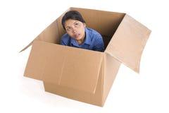 коробка вне думая Стоковые Фотографии RF