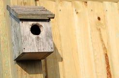 Коробка гнезда птицы Стоковые Фотографии RF