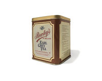 Коробка года сбора винограда чая Bewley Стоковое фото RF