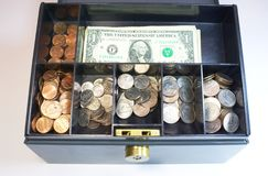 Коробка денег Стоковое Изображение RF