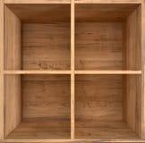 коробка деревянная Стоковые Фото