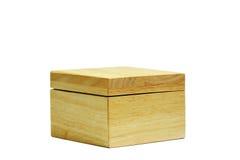 коробка деревянная Стоковые Фотографии RF
