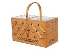 коробка деревянная стоковое фото