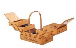 коробка деревянная стоковая фотография rf