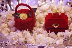 Коробка для кольца влюбленности обоих Стоковая Фотография RF