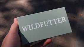 Коробка для питания дикого животного Стоковые Изображения RF