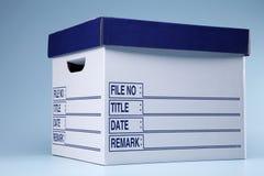 Коробка документа Стоковые Изображения